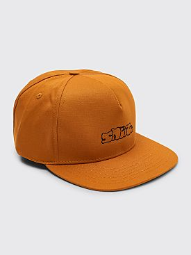 Sneeze Logo 5-Panel Cap Cognac