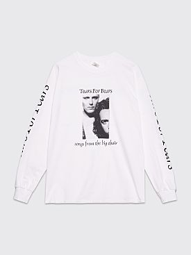 Fraser Croll Tears For Fears Long Sleeve T-shirt White