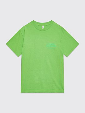 Studio Barnhus Orphanage Street Logo T-shirt Green