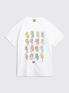 Iggy NYC Pierced T-shirt White