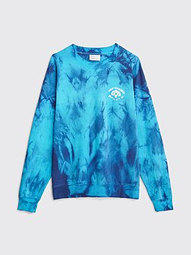 Public Possession Dip Crewneck Sweater Blue