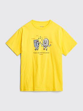 Butter Goods Soul T-shirt Yellow