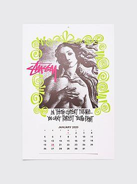 Stüssy 2020 Calendar White