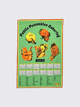 Public Possession Orchestra di Frutta Dish Towel