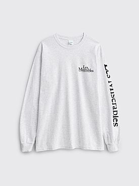 Fraser Croll Les Miserables LS T-shirt Grey