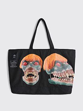 S.R. STUDIO LA. CA. Jumbo Structured Casual Tote Bag Black