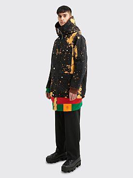 S.R. STUDIO LA. CA. Sepia Soto Hooded Coat Bleached Black