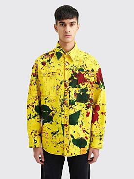 S.R. STUDIO LA. CA. Soto Oversized LS Shirt Yellow