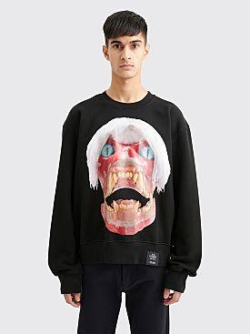 S.R. STUDIO LA. CA. Skull Sweatshirt Black