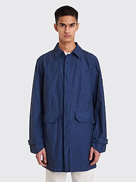 Stone Island Shadow Project Naslan Light Watro Coat Blue