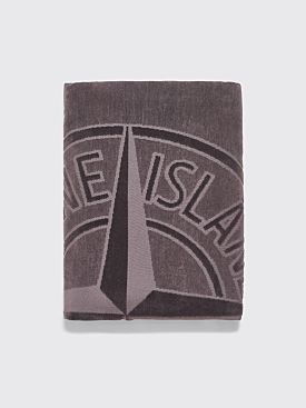 Stone Island Beach Towel Grey