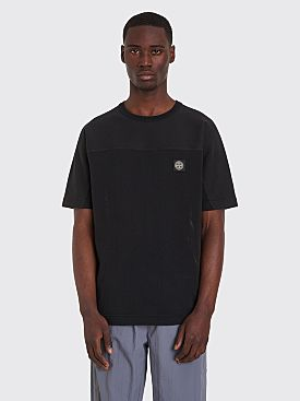 Stone Island Short Sleeve Sweatshirt Black