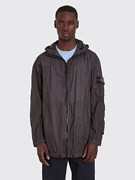 Stone Island Lamy Velour Jacket Charcoal