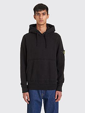 Stone Island Hooded Sweatshirt Black