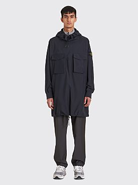 Stone Island Gore-Tex Poncho Jacket Navy