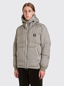 Stone Island Nylon Metal Watro Ripstop Down Jacket Dust