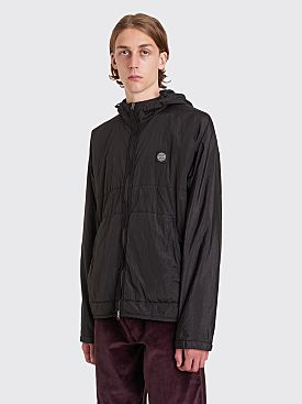 Stone Island Nylon Metal Watro Ripstop Light Hooded Jacket Black