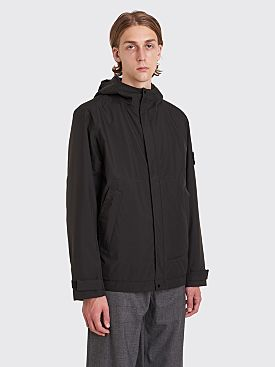 Stone Island Gore-Tex Paclite Primaloft Hooded Jacket Black
