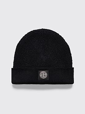 Stone Island Wool Hat Black