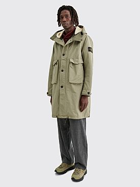 Stone Island David TC Double Layer Long Parka Mud