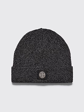 Stone Island Reflective Hat Black