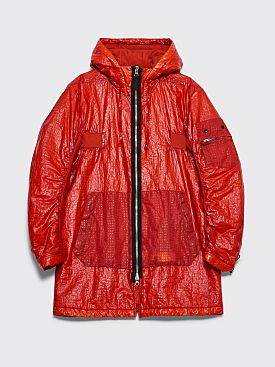 Stone Island Shadow Project Dual Grid Nylon GD Jacket Red