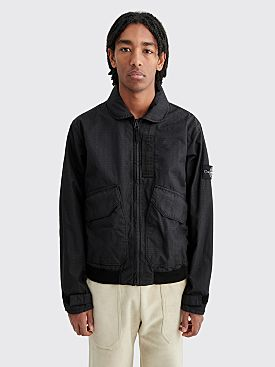 Stone Island Reflective Weave RS Short Jacket Black