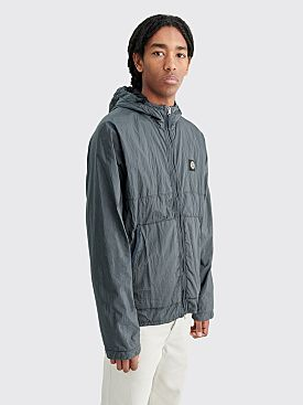 Stone Island Nylon Metal Watro Ripstop Light Hooded Jacket Dark Grey