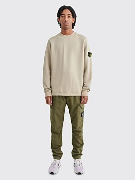 Stone Island Reflective Weave Ripstop TC Cargo Pants Olive