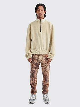 Stone Island Paintball Camo Cargo Pants Dark Brown