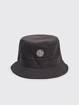 Stone Island Reflective Bucket Hat Black