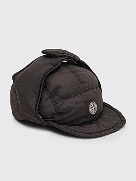 Stone Island Nylon Metal Down Hat Black