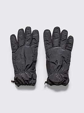 Stone Island Nylon Metal Gloves Dark Grey