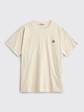 Stone Island GD Patch T-shirt Beige
