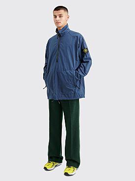 Stone Island GD Half Zip Overshirt Blue Marine