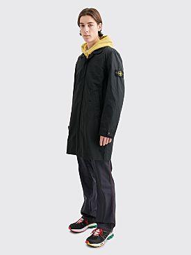 Stone Island Micro Reps Coat Black