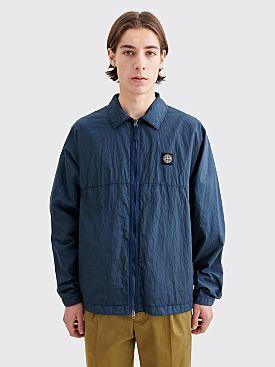 Stone Island Nylon Metal Ripstop Jacket Marine Blue