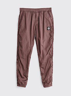 Stone Island Nylon Metal Ripstop Pants Marrone Magono