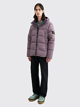 Stone Island GD Crinkle Reps NY Down Jacket Magenta