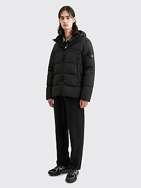 Stone Island GD Crinkle Reps NY Down Jacket Black