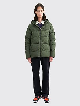 Stone Island GD Crinkle Reps NY Down Jacket Musk