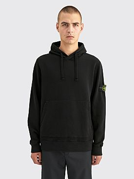 Stone Island GD Hooded Sweatshirt Black