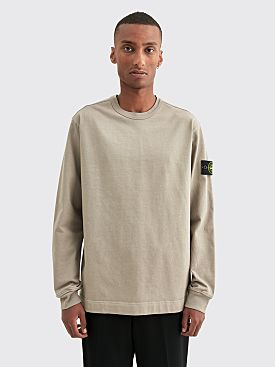Stone Island Open End Sweatshirt Mud