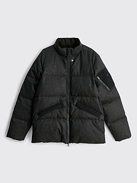 Stone Island Shadow Project GD Linen Down Jacket Black