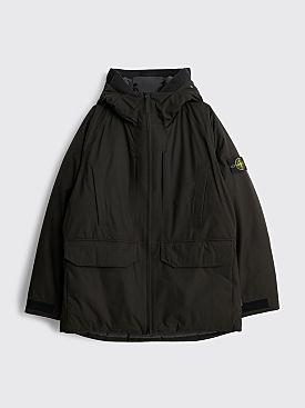 Stone Island Gore-Tex Ripstop Hooded Down Jacket Black