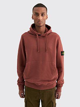 Stone Island GD Hooded Sweatshirt Dark Burgundy
