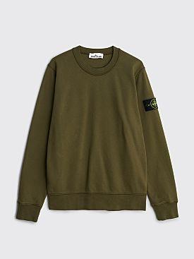 Stone Island GD Crewneck Sweatshirt Olive