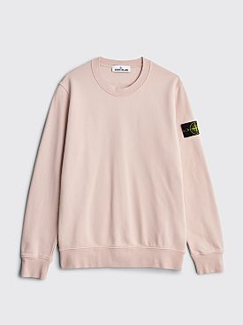 Stone Island GD Crewneck Sweatshirt Antique Rose