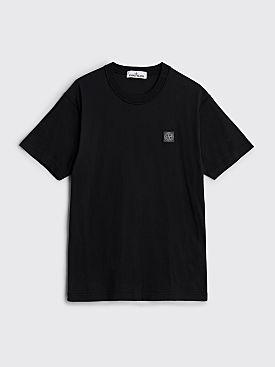 Stone Island GD Logo T-shirt Black