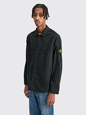 Stone Island Pocket Overshirt Black